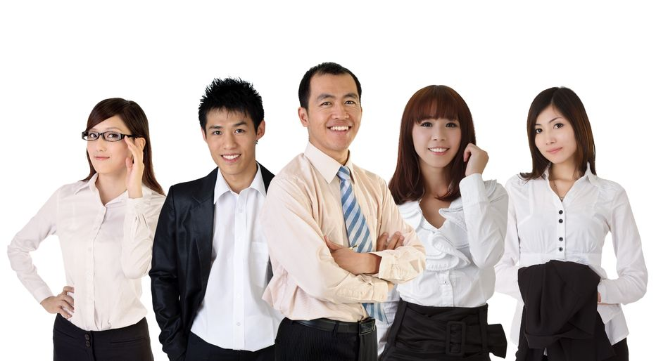 Asian real estate professionals
